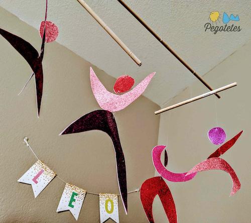 Bailarines Montessori