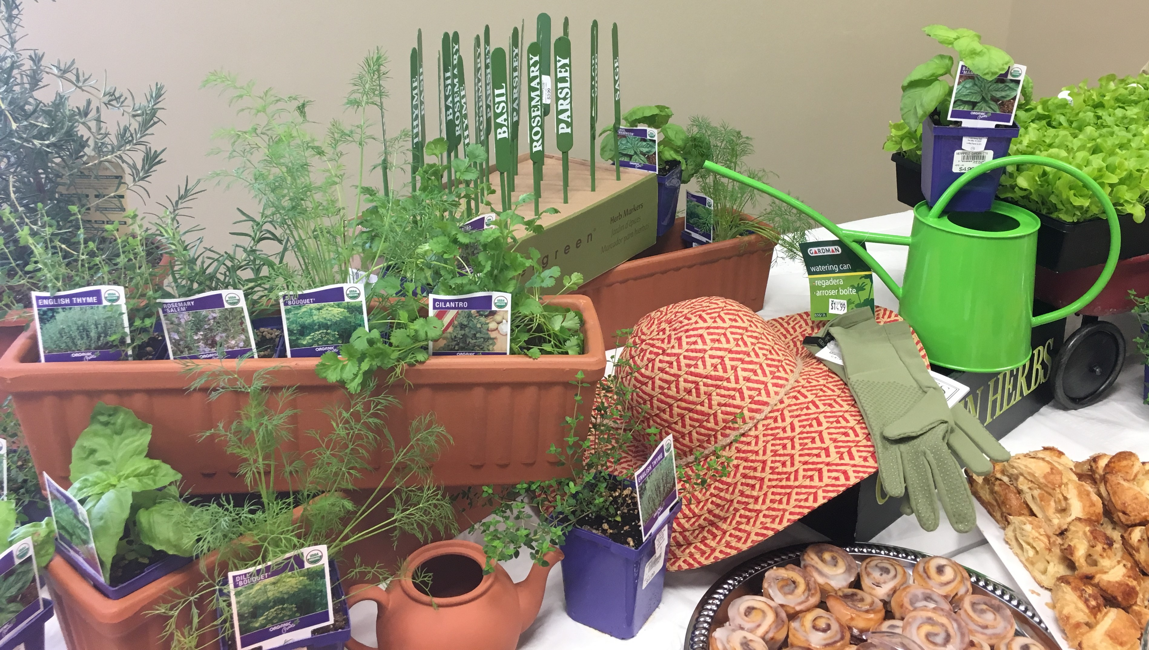 Yesterday I Attended Merrifield Garden Centeru0027s Free Lecture On Herbs And  Was Pleasantly Surprised By The Great Speaker And The Event Itself: Part ...