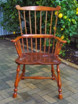 The finished chair…