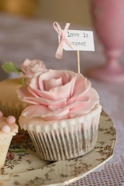Cupcakes No Casamento Peguei O Bouquet