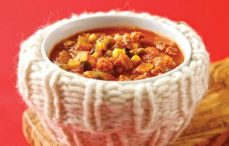 Southwest Chorizo Soup by Dave Schultz of Saucer's Café