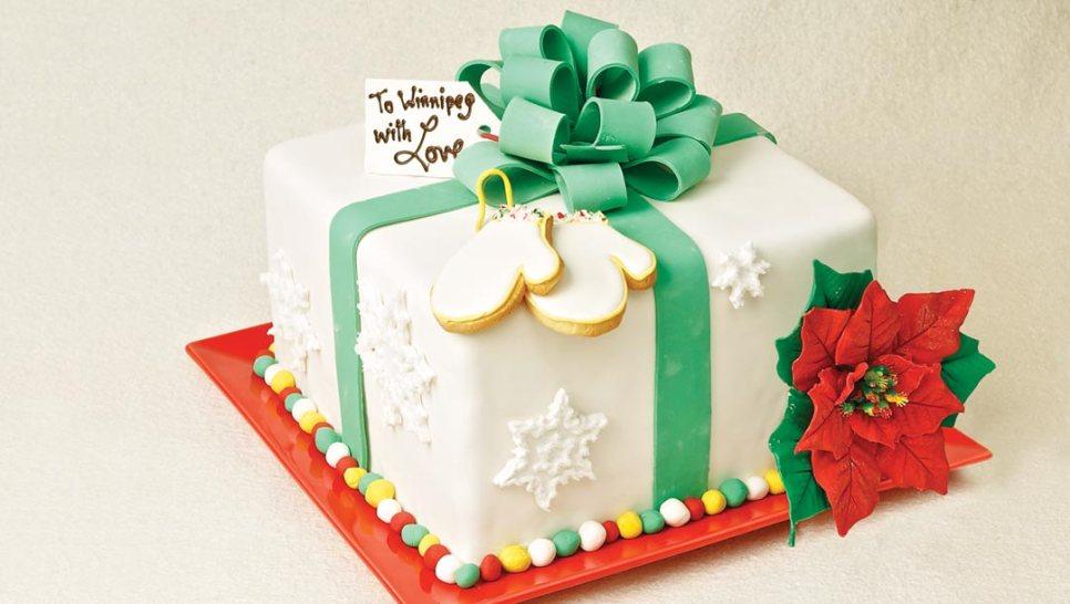 Red velvet winter cake by Chefs Doug Krahn and Betty Lai of Chocolate Zen Bakery