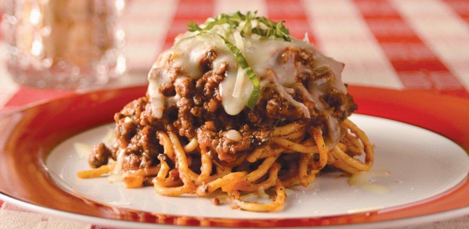 Spaghetti alla bolognese by Chef Todd Bjornson of Bombolini