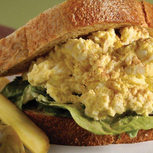 Creamy Egg Salad Sandwich by Marla Bernstein of Bernstein's Deli