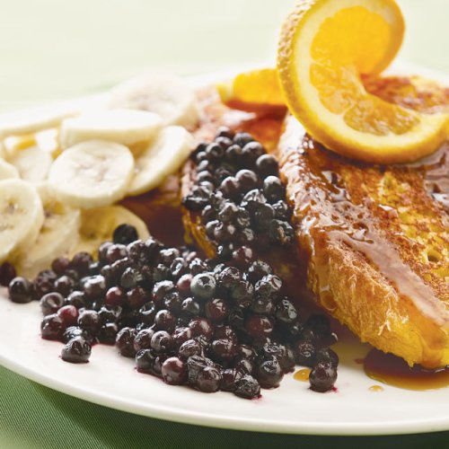 Banana Blueberry French Toast by Stella's Café and Bakery
