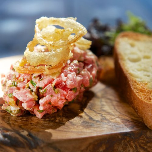 Steak Tartare by Tristan Foucault of Peasant Cookery