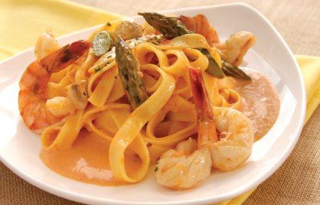Fettuccine alla Diva by Chef Giacomo Appice of Tre Visi