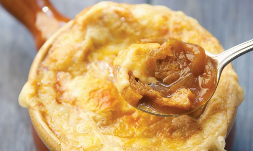 French Onion Soup by Chef Tristan Foucault of Peasant Cookery