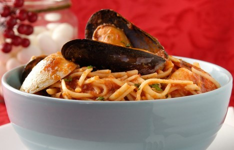 Pasta Pescatore by Chef Michele Di Fonte of Monticchio