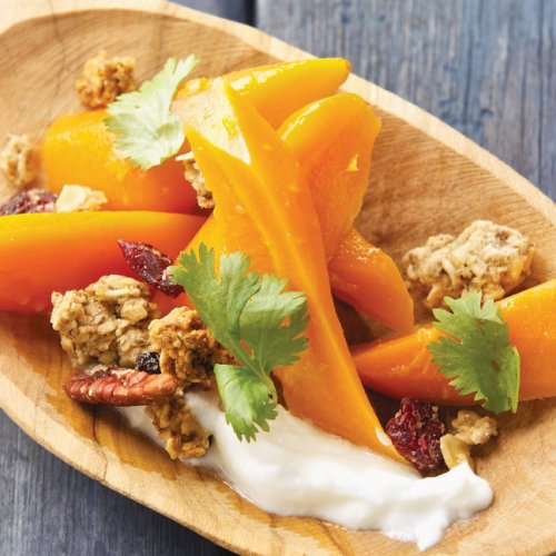 Roasted Carrot Salad by Chef Tristan Foucault of Peasant Cookery