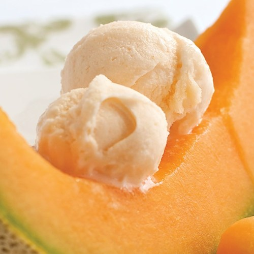 Cantaloupe Sorbet by Chef Heiko Duehrsen of The Gates on Roblin
