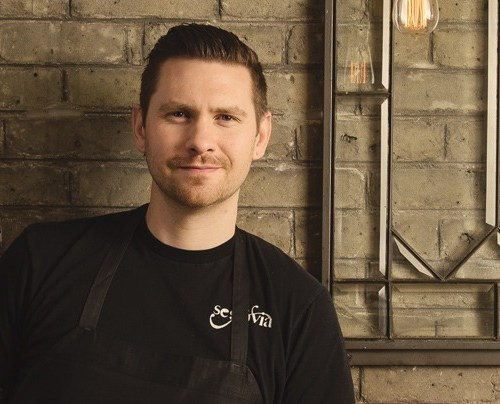 Chef Adam Donnelly of Segovia