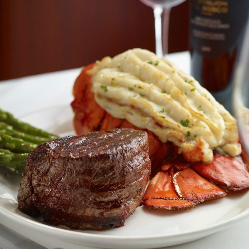 Hys Steak and Lobster Dinner