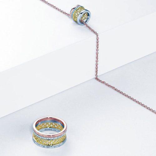 Jewellery display from Birks Winnipeg
