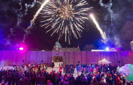 Festival Du Voyager - Fireworks