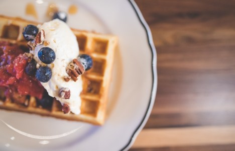 Clementine-waffles
