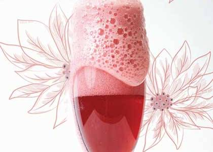 Hibiscus and lavender mimosas