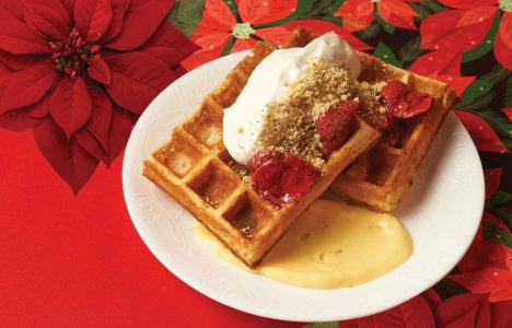 Belgian Waffle by Chris Gama of Clementine