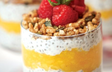 Chia seed pudding by Chris Gama of Clementine