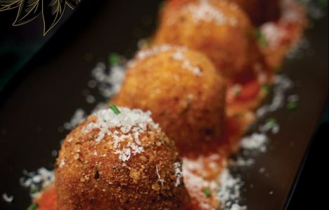 Stuffed Arancini by chef Sean Smith