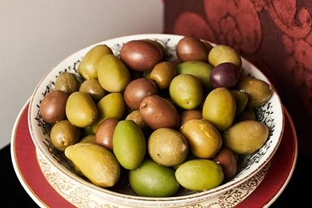 Gin olives