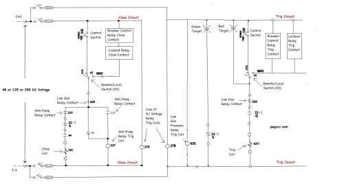 small resolution of power circuit breaker scheme