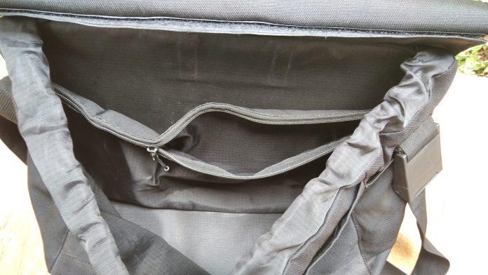 Tas Sepeda Luce Bagian dalam tas
