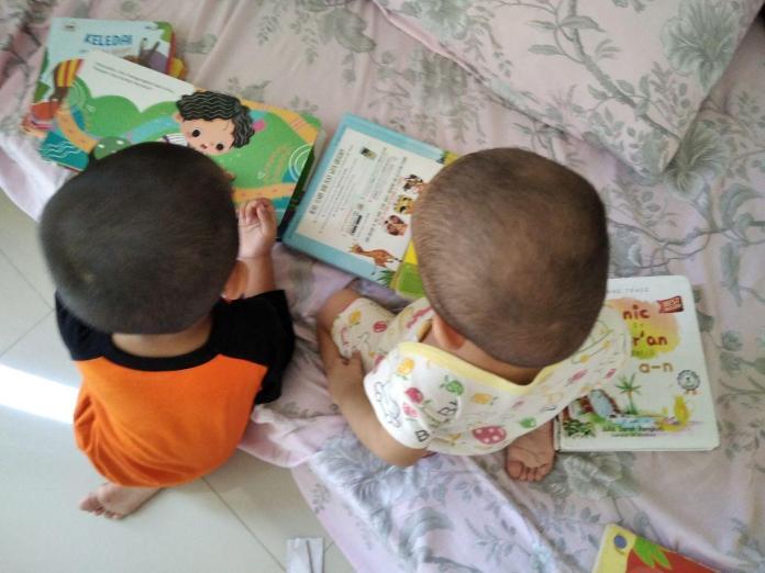 Memberi Tugas kepada Anak (Jurnal Hari ke-6)-abang adek