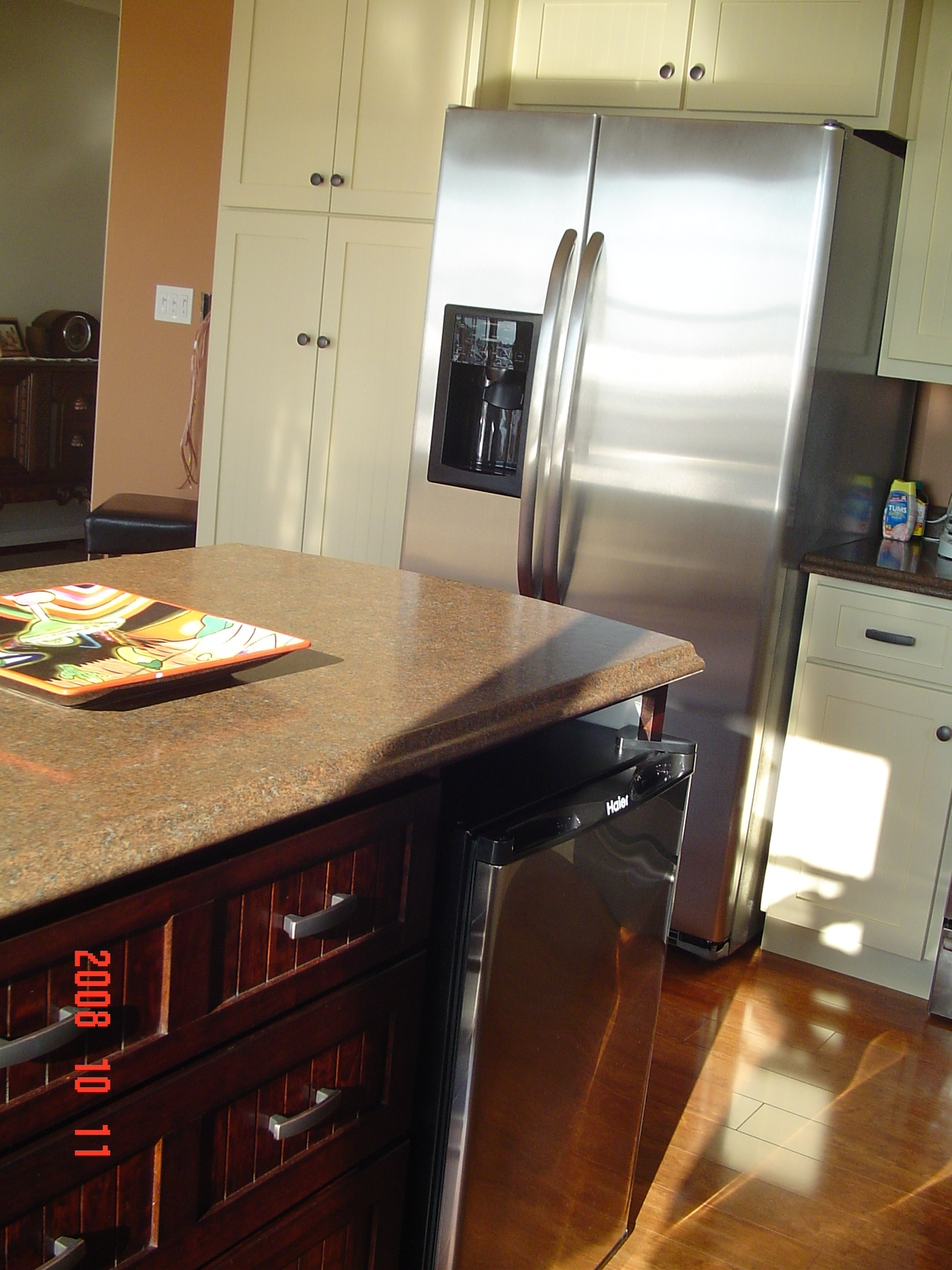 cherry wood kitchen island and bath magazine norm's carpentry cabinet making — pei