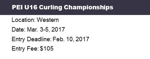 PEI Under 16 Ch'ships @ Western Community Curling Club | Alberton | Prince Edward Island | Canada