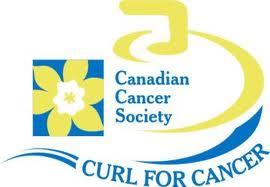 Curl for Cancer logo