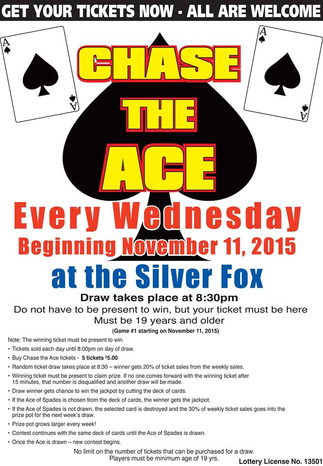 "PEI Curling Clubs ""Chasing the Ace"" to raise funds"