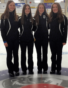 Abraham team from Halifax, Comeau rink from Fredericton win Silver Fox Fall Fling Jr. Cashspiel