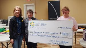 Curl for Cancer events at Montague raise $7386!