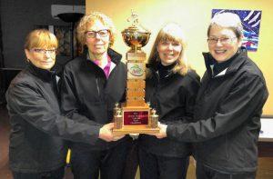 Shelley Ebbett rink wins PEI Credit Unions Provincial Senior Women's curling title
