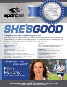 "Sport PEI 2nd ""She's Good"" event @ Synergy Fitness 