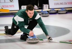 UPEI men make the playoffs at Canadian University Curling Championships