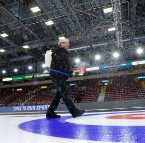 Photos of Larry at the Brier, by Anil Mungal