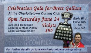 Early Bird ticket pricing for Brett Gallant Celebration Gala ends Saturday