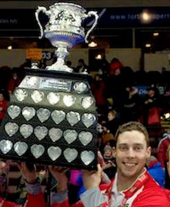 Meet and Greet with Brett Gallant & the Brier Tankard trophy on Sunday. Juniors especially welcome!