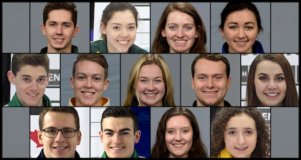 "PEI's DeWolfe and Roche among ""For the Love of Curling"" scholarship recipients (Curling Canada)"