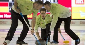 Team Adam Casey still in playoff hunt at Home Hardware Road to the Roar (Curling Canada)