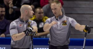 Team Jacobs bounces back with crucial win (over Team Gushue) at Tim Hortons Roar of the Rings (Curling Canada)
