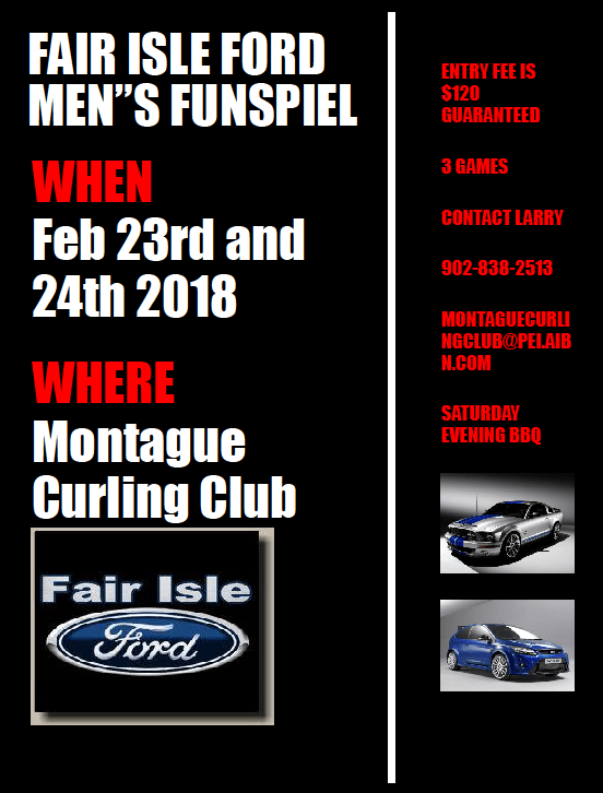 Fair Isle Ford Men's Funspiel | PEICurling.com