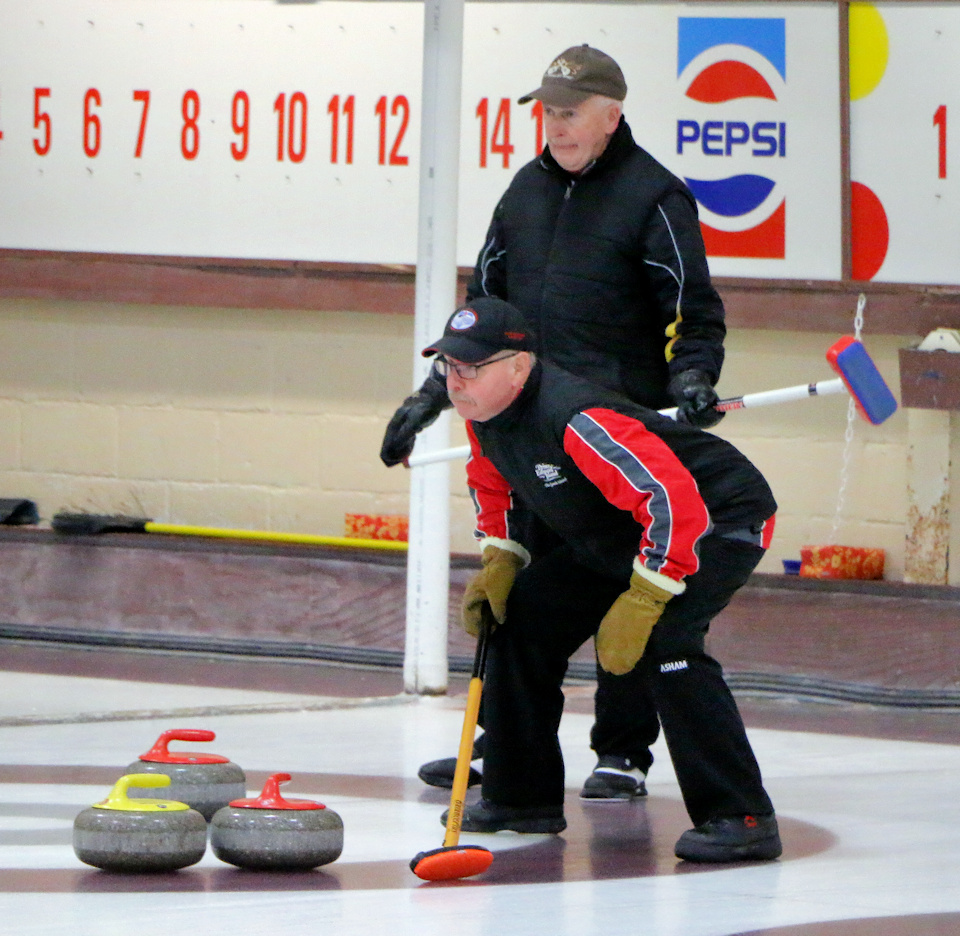 Ted MacFadyen wins PEI Masters Men's B Final, Sandy Hope wins 1st Women's Best of Five game