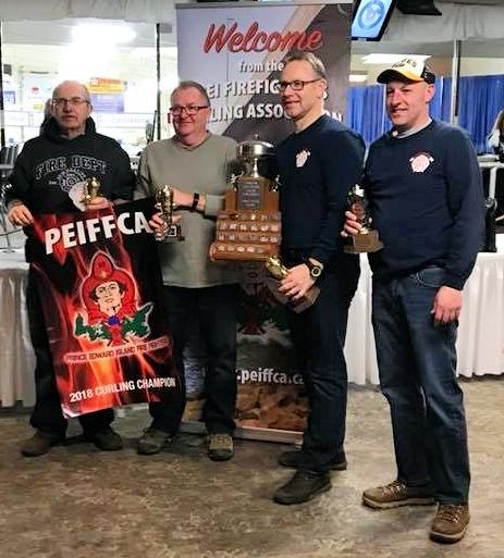 Summerside FD team wins PEI Firefighters Curling Ch'ship (updated)