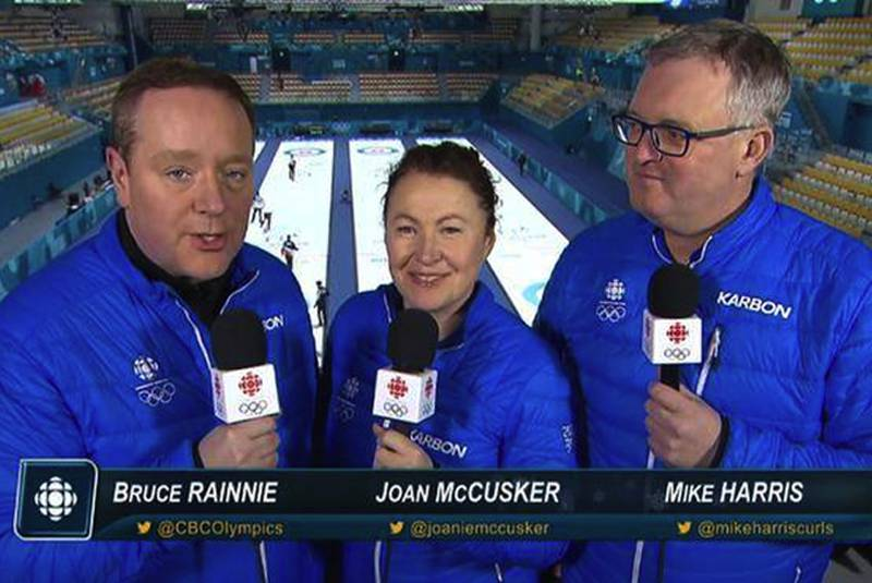 Former CBC PEI broadcaster Bruce Rainnie's happy, gruelling Olympic curling marathon (Journal)