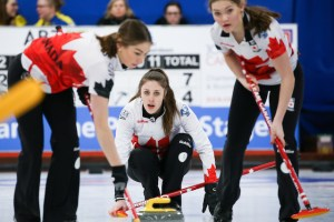 Semifinals for Team Canada men and women at World Juniors (Curling Canada)