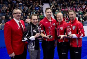 PEI's Brett Gallant from Team Canada among Brier First Team All-Stars (Curling Canada)