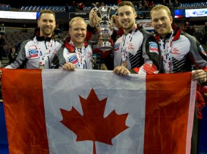 Team Gushue, with PEI's Gallant, goes for back-to-back gold at World Men's Ch'ship (Curling Canada)